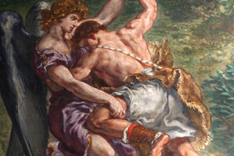 La lotta di Giacobbe con Dio: un grande abbraccio d'amore