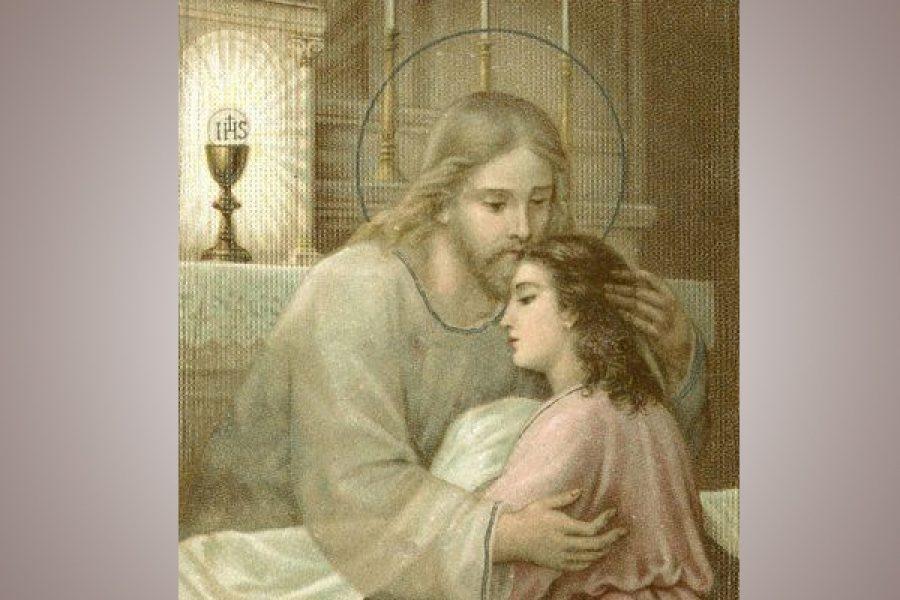Il bacio di pace di Gesù