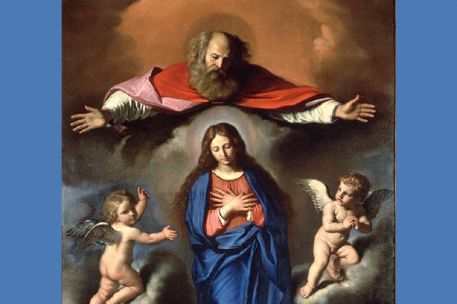 La Vergine Maria, Paradiso di Dio