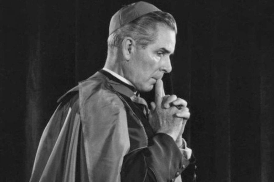 """Il venerabile Vescovo Fulton J. Sheen: """"Non negare mai la tua colpa!"""""""