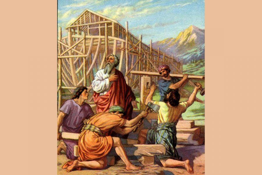 Noé: costruire la propria arca rinnegando le logiche del mondo