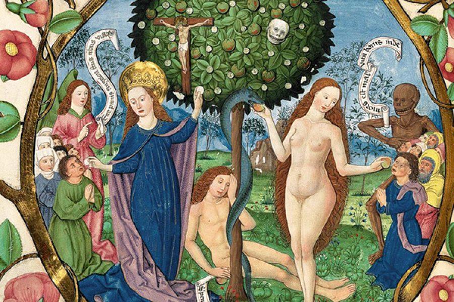 Il Frutto di Maria Santissima e il frutto di Eva