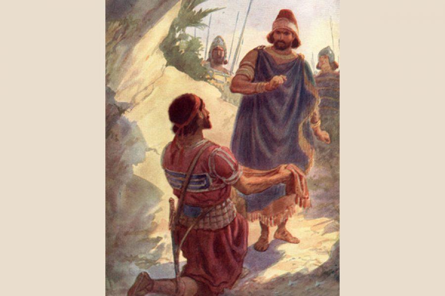 Davide: il rispetto della sacralità della Provvidenza