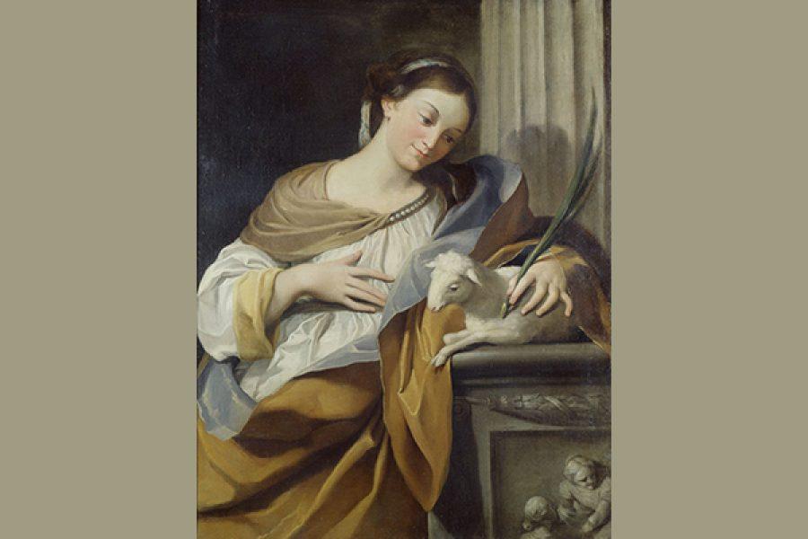 S.Agnese - Verginità e purezza: segno di appartenenza a Dio