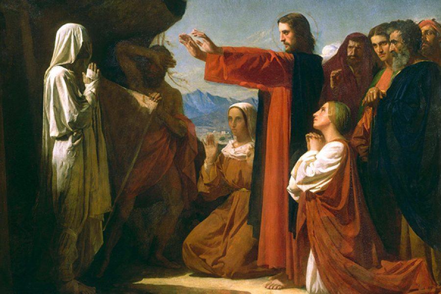 Gesù davanti alla morte