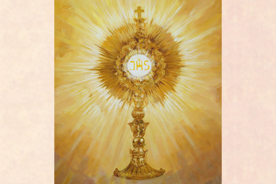 Consacrazione a Gesù Sacramentato