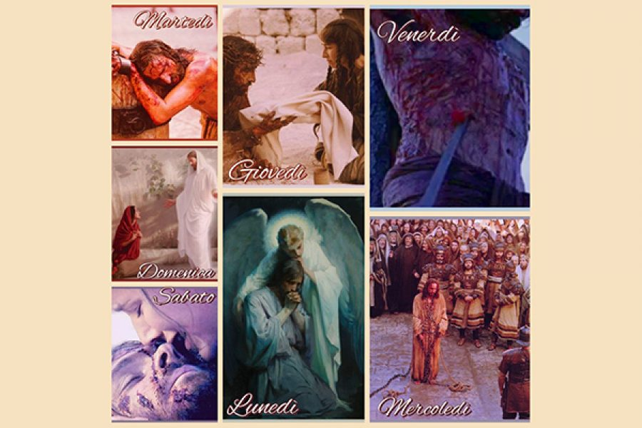 """La settimana della Passione - Tratta dal testo di don Giuseppe Tomaselli """"Piccole Ostie di Gesù"""""""