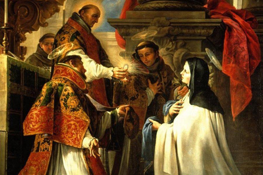 S. Teresa di Gesù e l'Augustissimo Sacrificio