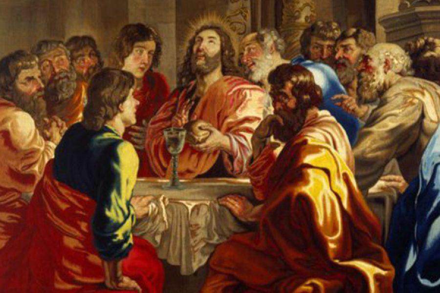 Λάβετε φάγετε: i verbi paratattici eucaristici