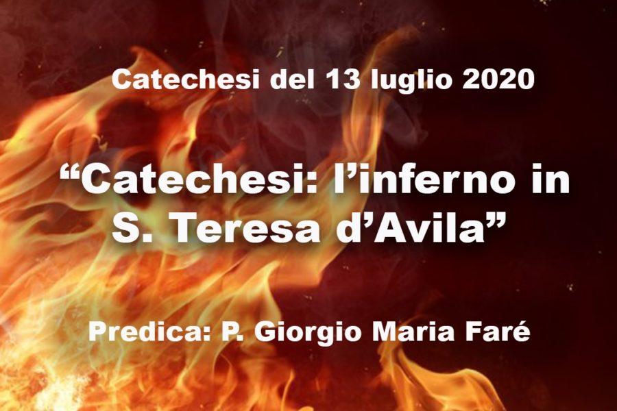Catechesi: l'inferno in S. Teresa d'Avila
