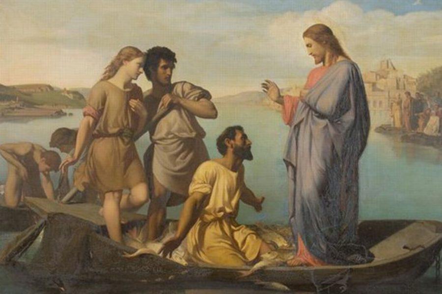 """La pesca miracolosa: """"lasciarono tutto e lo seguirono"""""""