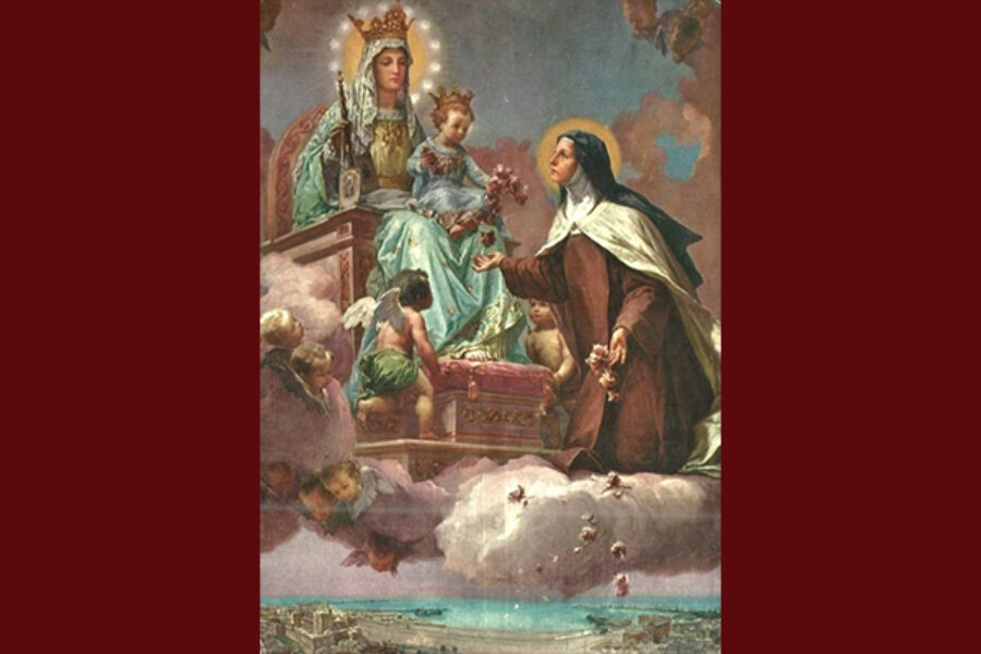 Novena delle Rose a Santa Teresa di Gesù Bambino e del Volto Santo