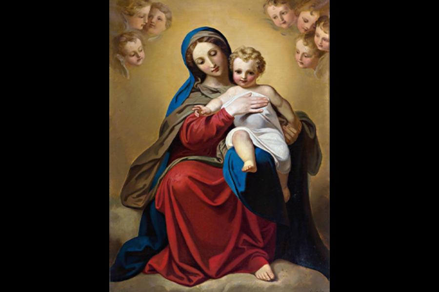 Supplica a Maria Santissima in riparazione dei sacrilegi di Halloween