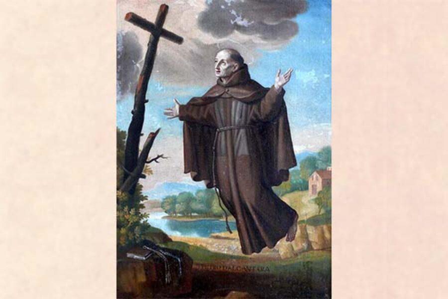Abbracciami Signore - San Pietro d'Alcantara