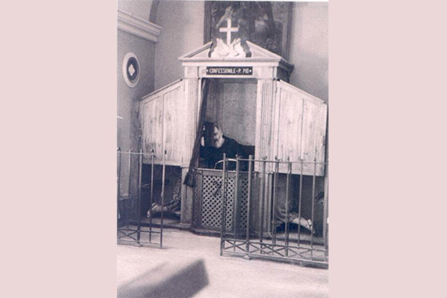 S. Pio e l'assoluzione negata