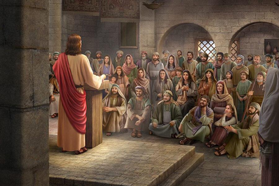 Gesù insegna con autorità