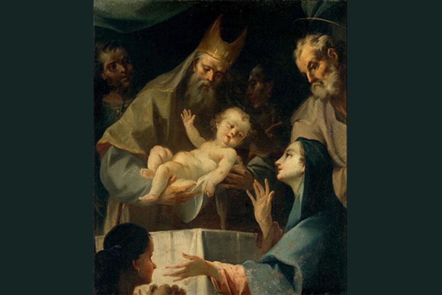La Presentazione di Gesù al Tempio: prima parte