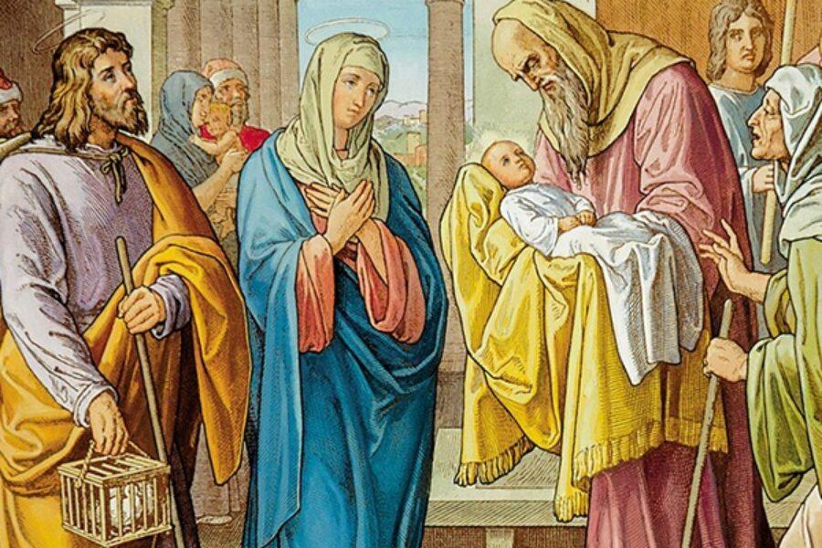 Presentazione di Gesù al Tempio: seconda parte