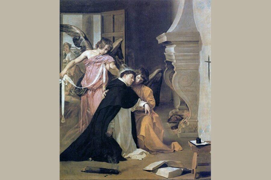 La Milizia Angelica e il Cingolo di S. Tommaso d'Aquino