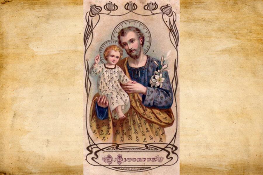 Il Sacro Manto a San Giuseppe