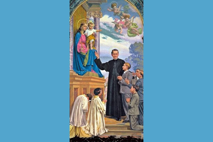 Preghiera a Maria Ausiliatricedi San Giovanni Bosco