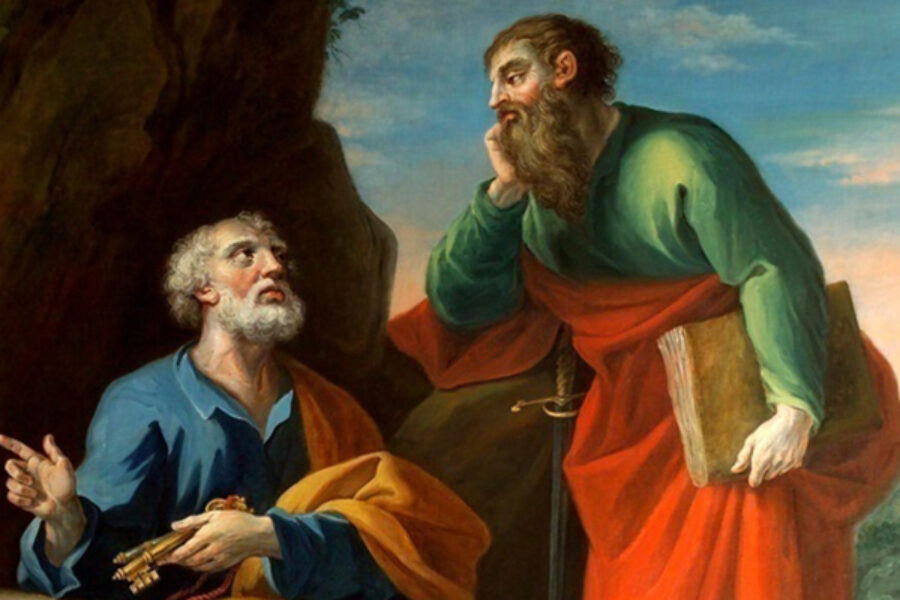 Preghiera ai Santi Apostoli Pietro e Paolo