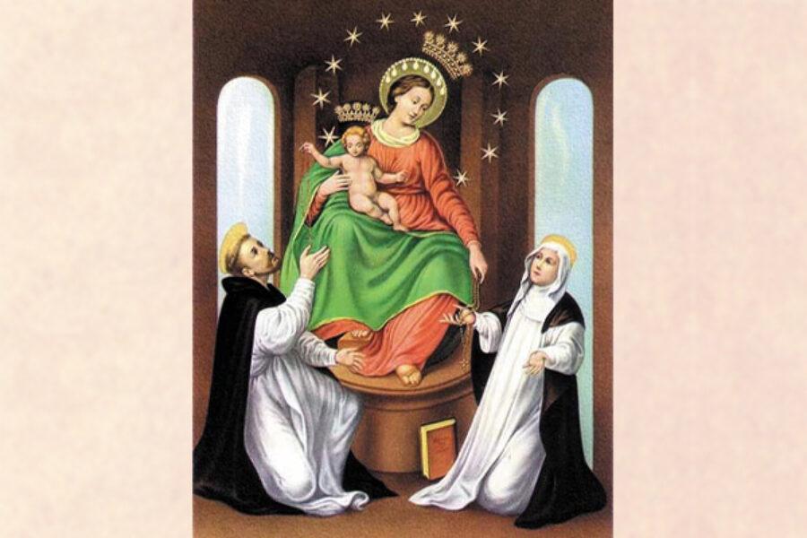 La novena d'impetrazione alla Vergine del Rosario di Pompei